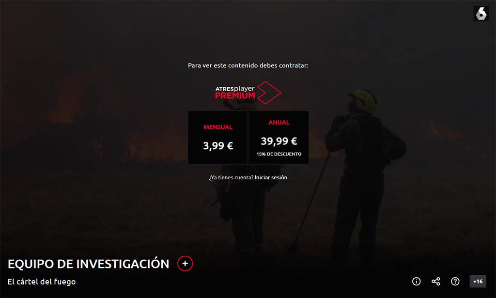 Equipo de investigación. El cartel del fuego