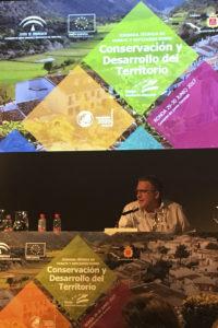 Javier Madrid Rojo cerró las Jornadas que Europarc organizó en Ronda, el pasado mes de junio, con un discurso tremendamente populista