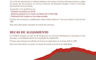Jornada sobre Sierra Bermeja organizada por FGUMA en Casares