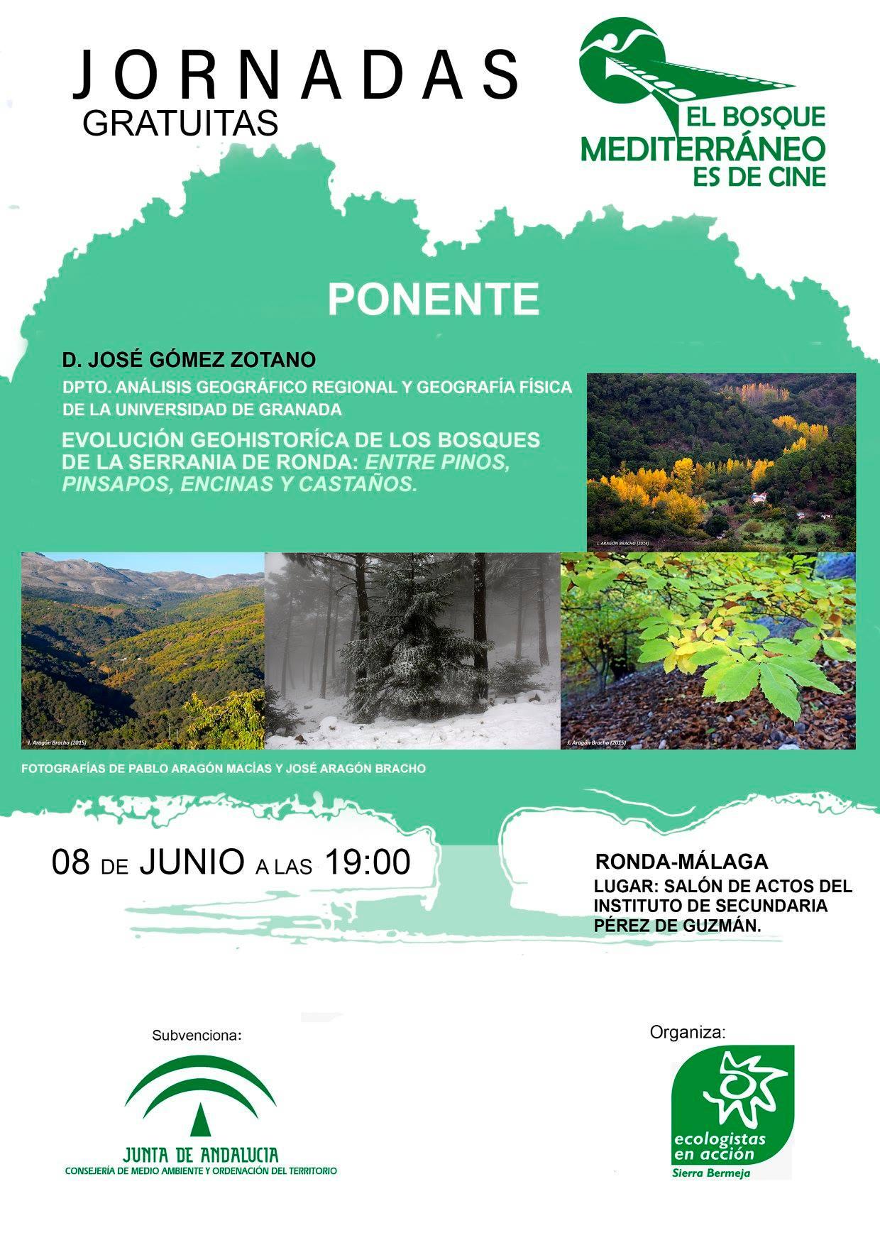 Conferencia José Gómez Zotano