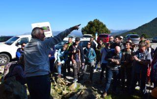 Carlos Garrido. Jornada sobre Sierra Bermeja organizada por FGUMA en Casares
