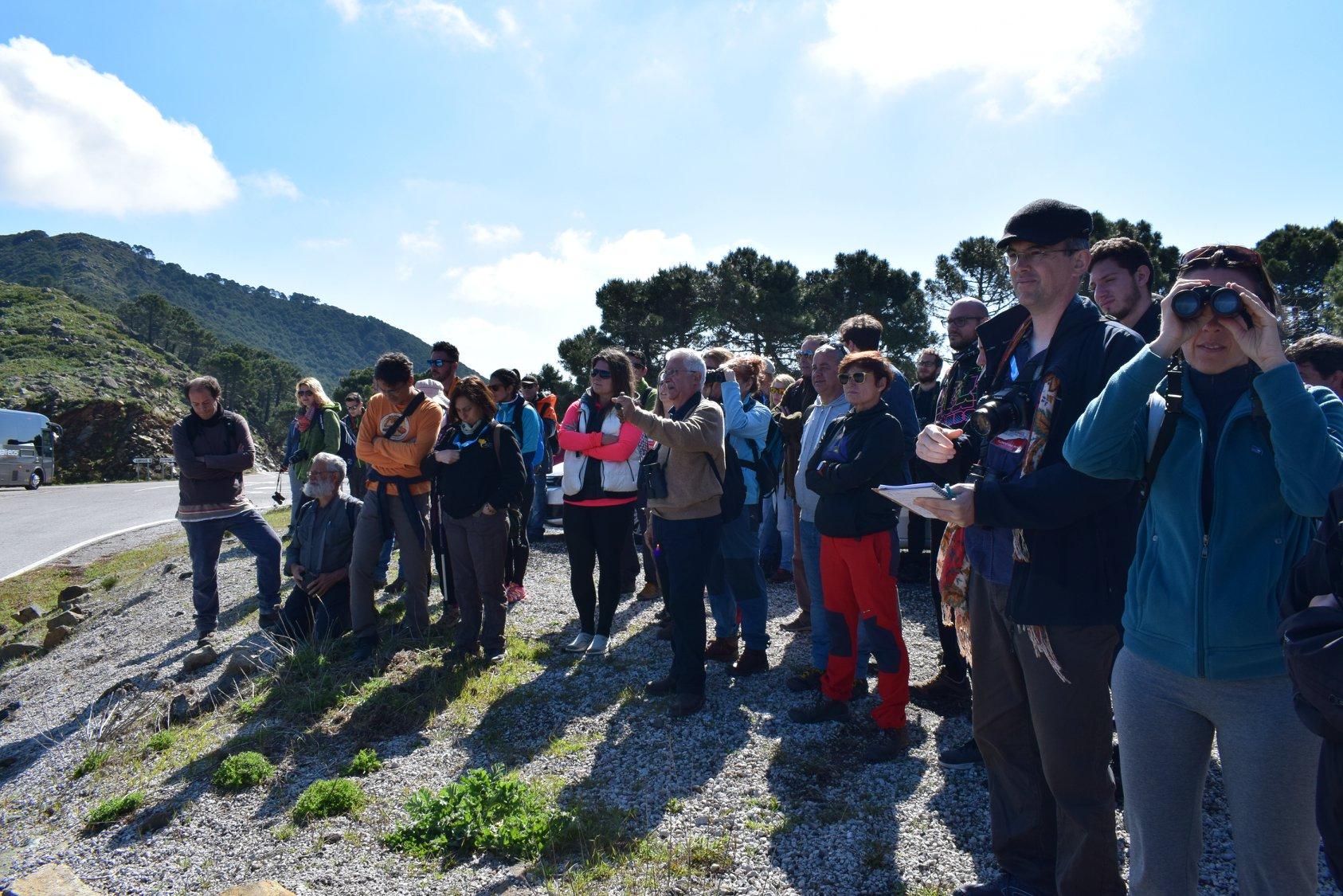 José Antonio Castillo. Jornada sobre Sierra Bermeja organizada por FGUMA en Casares