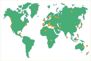 Ecosistemas serpentínicos en el mundo