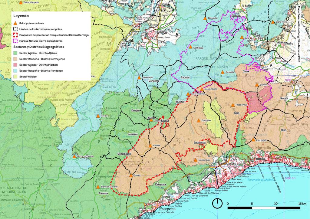 Sectores biogeográficos