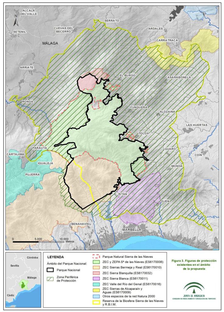 Zona Periférica de Protección del Parque Nacional Sierra de las Nieves