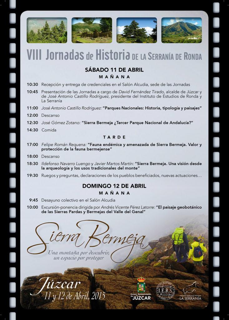 VIII Jornadas de Historia de la Serranía de Ronda