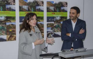 Marina Bravo presenta la exposición sobre Sierra Bermeja