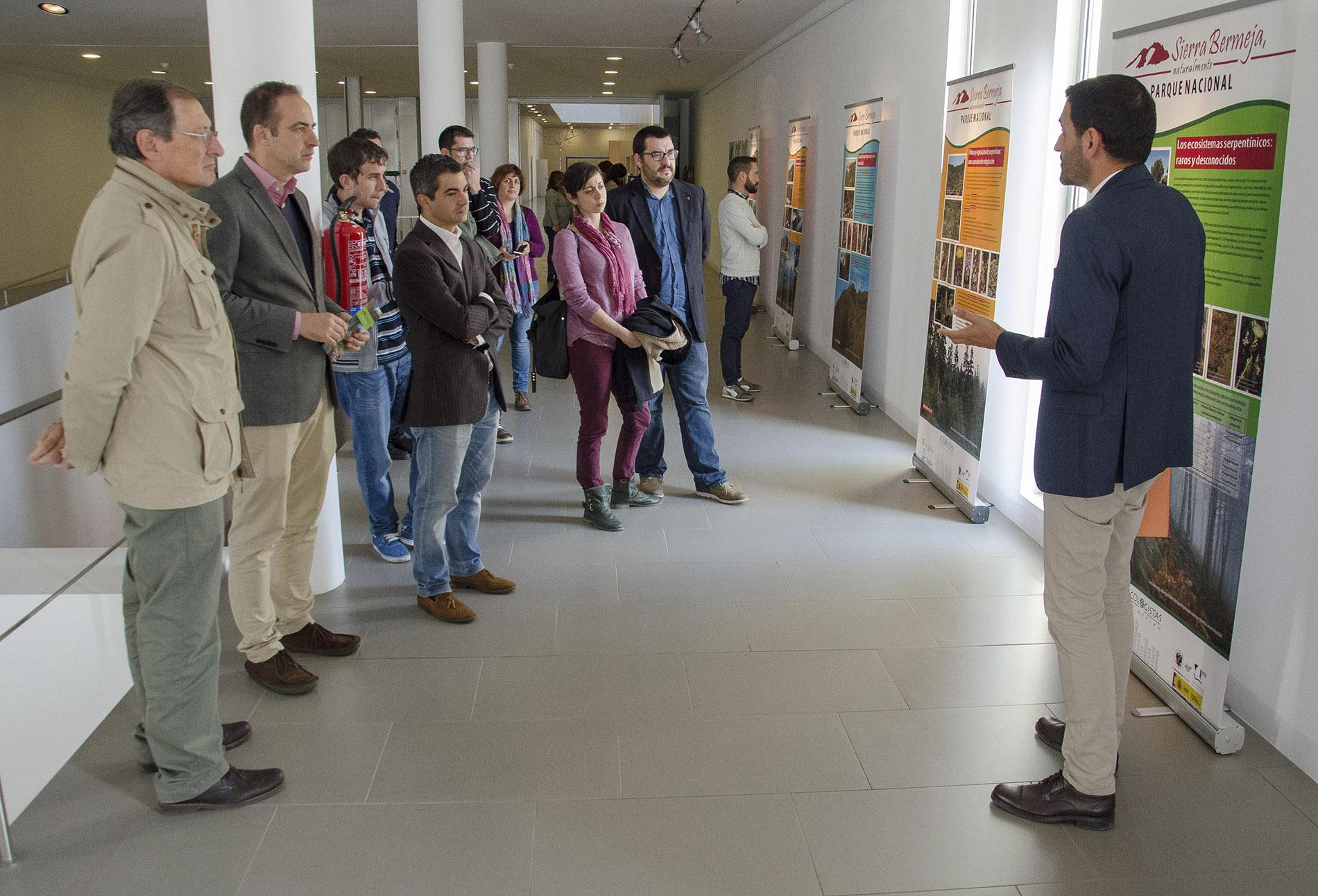 José Gómez Zotano presenta la exposición sobre Sierra Bermeja