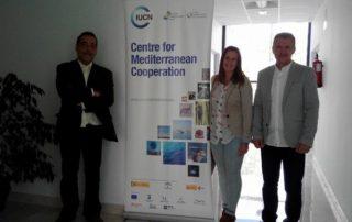 Reunión de la Plataforma con representates de UICN-Med