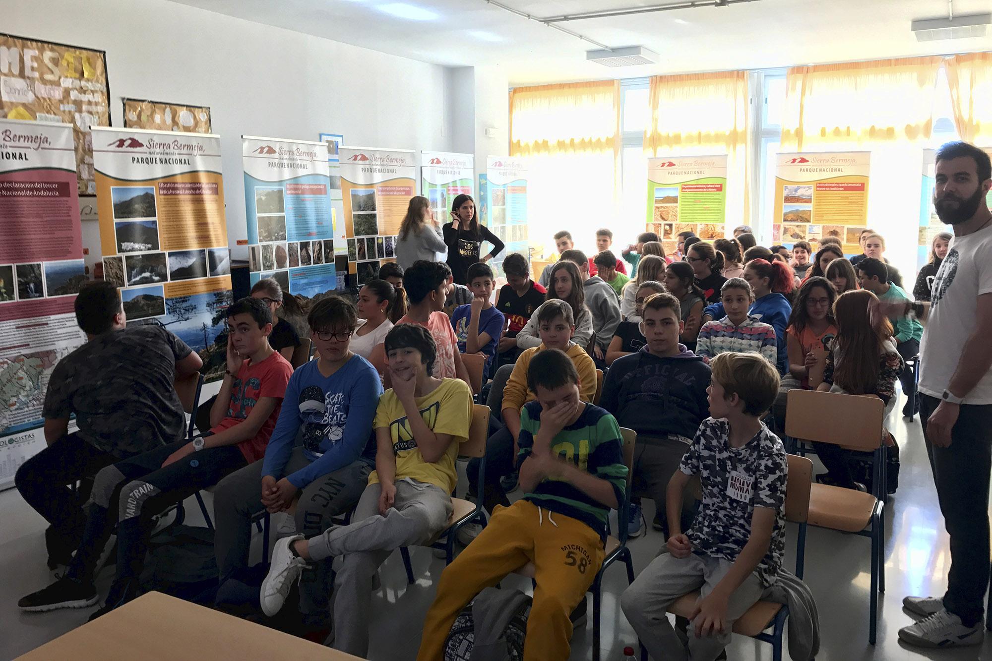 Conferencia y exposición sobre Sierra Bermeja en el IES Puerta del Mar
