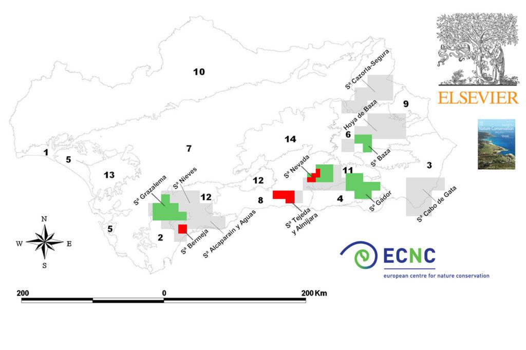 Sierra Bermeja es una de las tres zonas de andalucía más importantes para priorizar su conservación