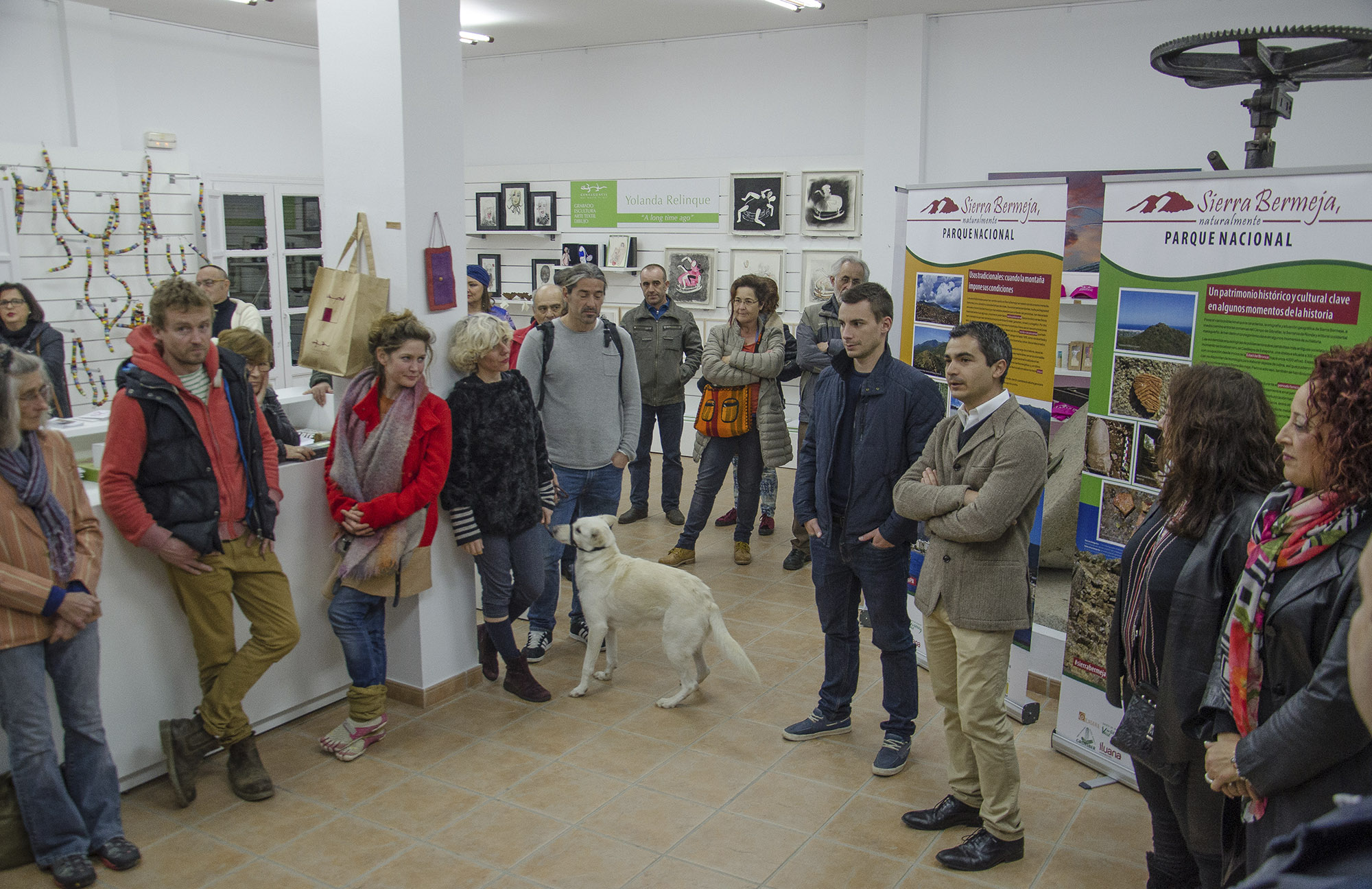 Genalguacil alberga la exposición Sierra Bermeja Parque Nacional