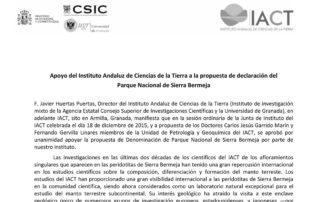 El IACT respalda la declaración de Sierra Bermeja como Parque Nacional