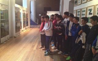 El CEIP Blas Infante de Casares visita la exposición sobre Sierra Bermeja