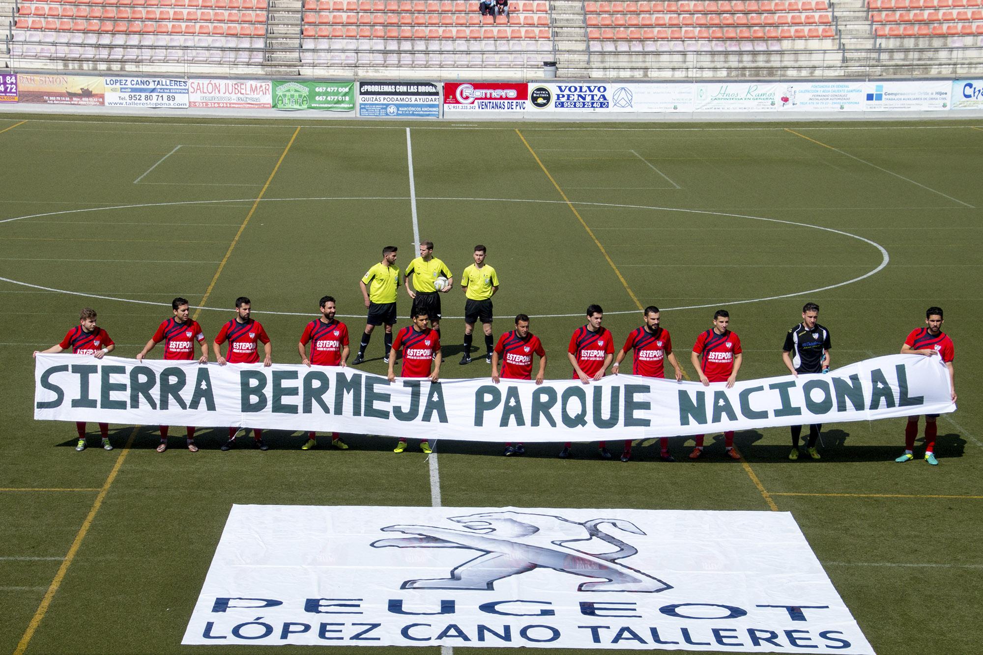 EL CD Estepona apoya Sierra Bermeja Parque Nacional