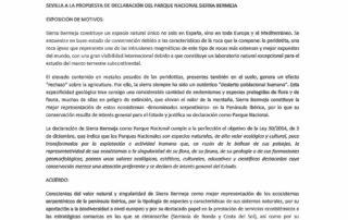 Los geógrafos de la Universidad de Sevilla apoyan a Sierra Bermeja como Parque Nacional