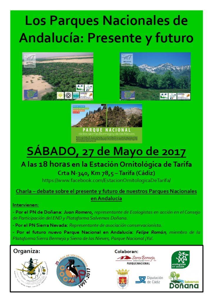 Jornadas sobre Parques Nacionales en la EOT (Tarifa, Cádiz)