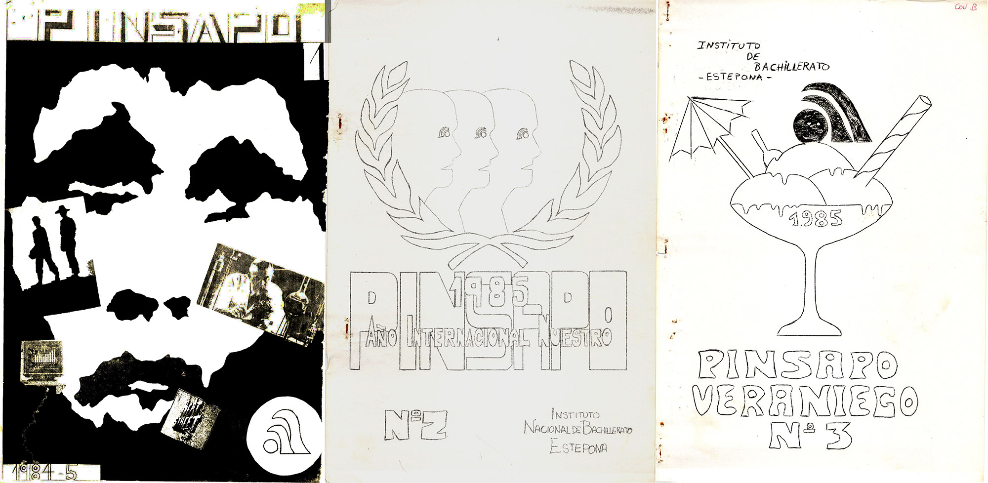 IES Monterroso de Estepona. Revista Pinsapo 1984-85