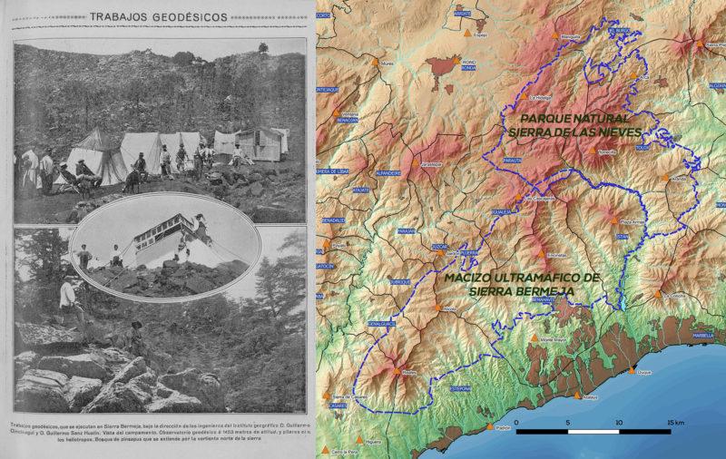 hito geodésico de Los Reales de Sierra Bermeja