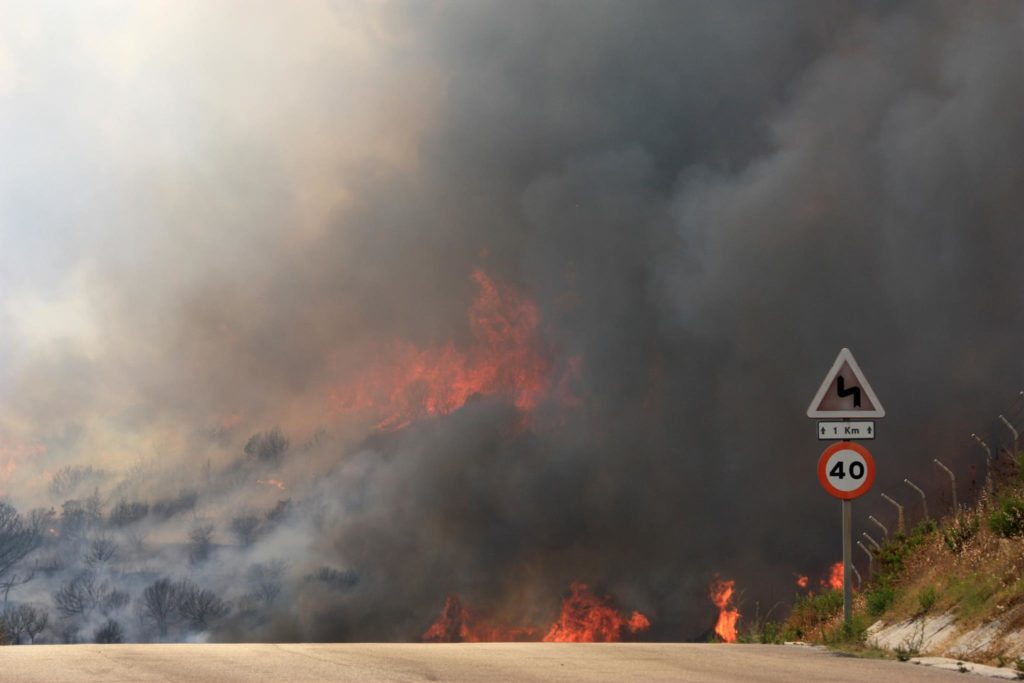 Incendio Forestal Casares 21/7/2018