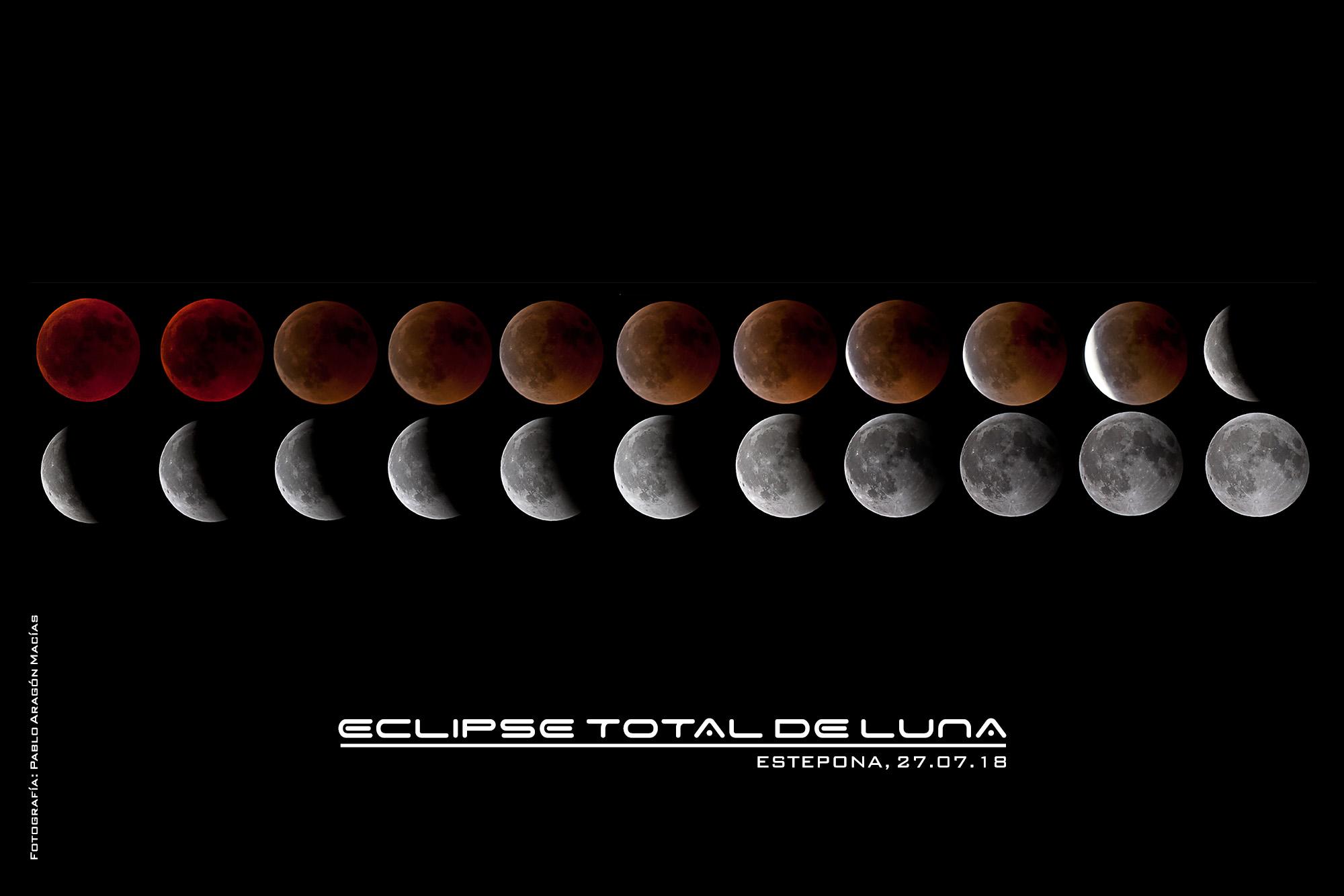 Eclipse total de Luna 27.07.18