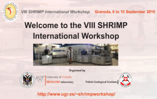 VIII International SHRIMP Workshop
