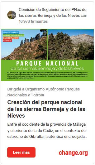 Campaña Change Sierra Bermeja
