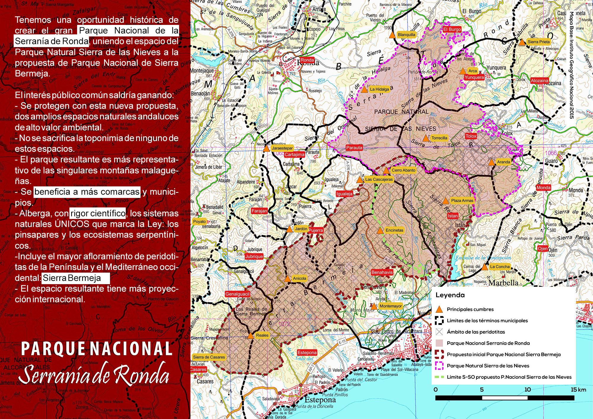 Parque Nacional Serranía de Ronda
