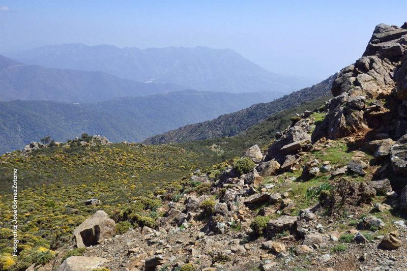 Cuenca endorreica en Sierra Palmitera