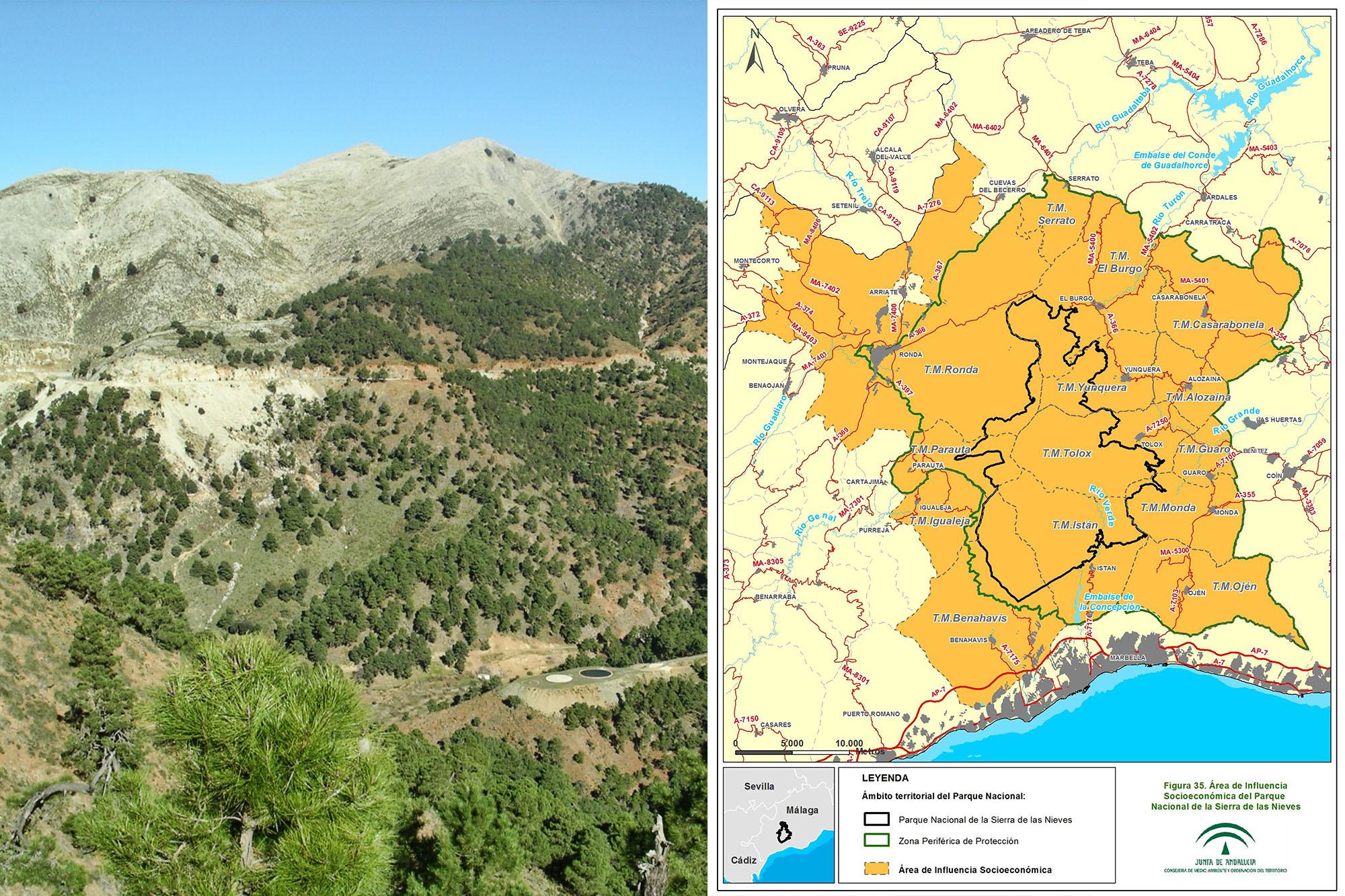 Propuesta de Parque Nacional Sierra de las Nieves