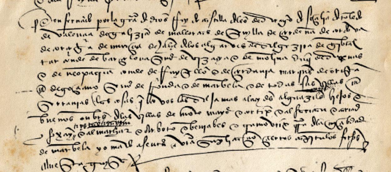 Capitulación de las alquerías de Marbella, en 1482