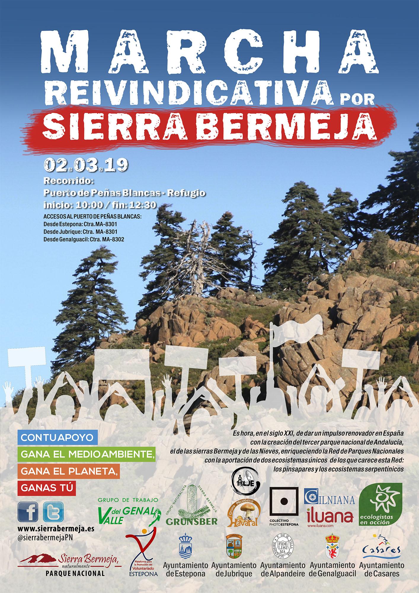 Marcha reivindicativa por Sierra Bermeja
