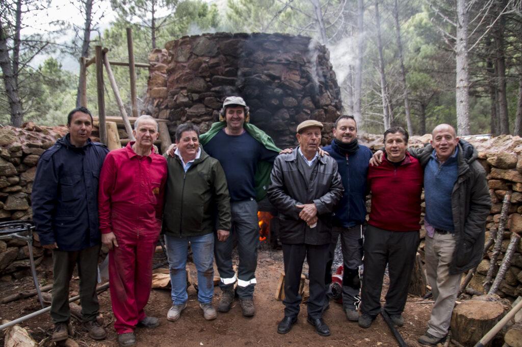 Horno de brea de los Almárgenes