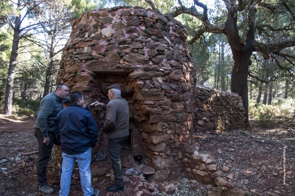 Horno de brea de los Almárgenes (Sierra Bermeja)