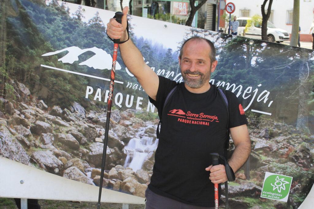 Pumuki, desde Alpandeire a Estepona, andando y sin apoyo alimenticio, por Sierra Bermeja
