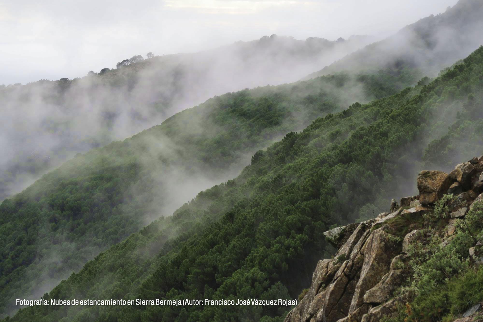 Nubes de estancamiento en Sierra Bermeja