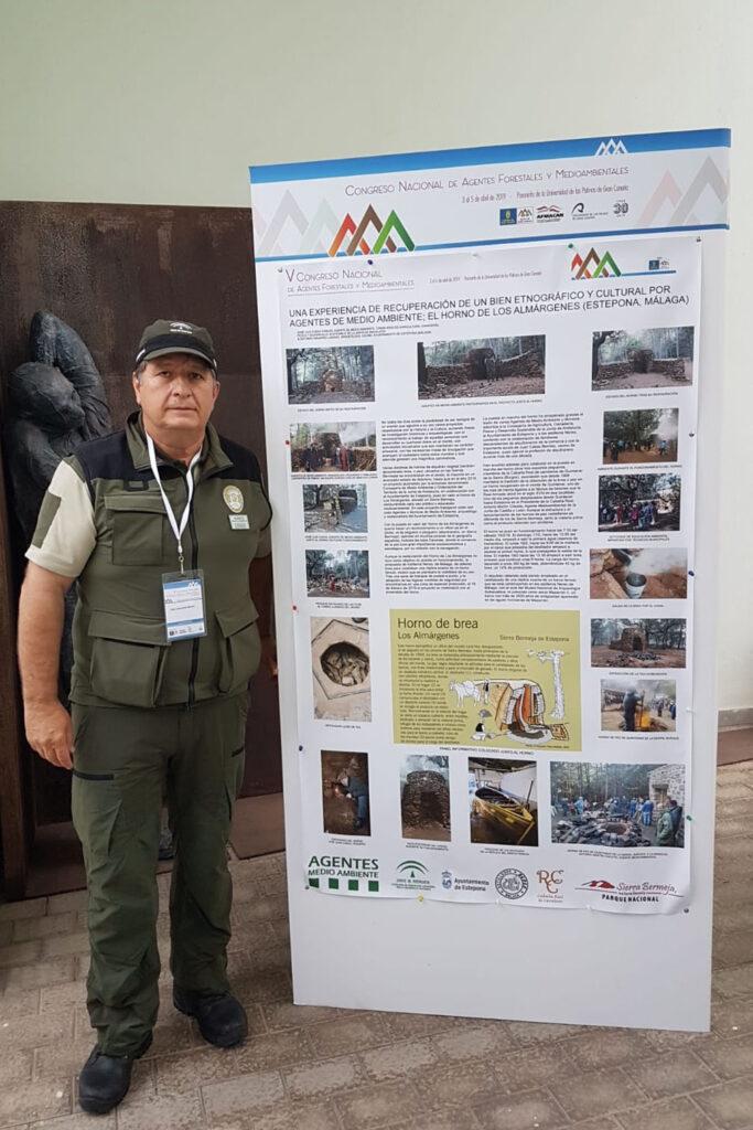 José Luis Ojeda en el V Congreso de Agentes de Medio Ambiente