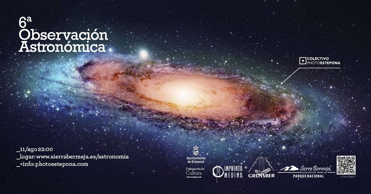 VI observación astronómica Estepona