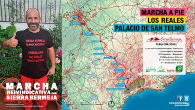 Marcha a pie a favor de la protección de Sierra Bermeja como Parque Nacional