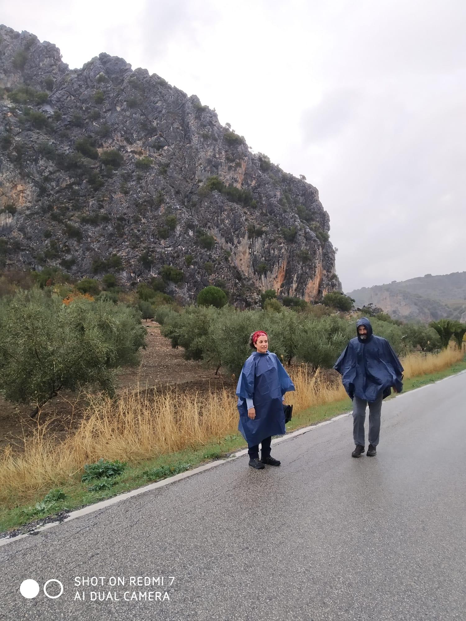 Maria Rosa y Eduard, en la etapa de Benaoján-Algodonales