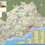 Mapa de LIG de la provincia de Málaga