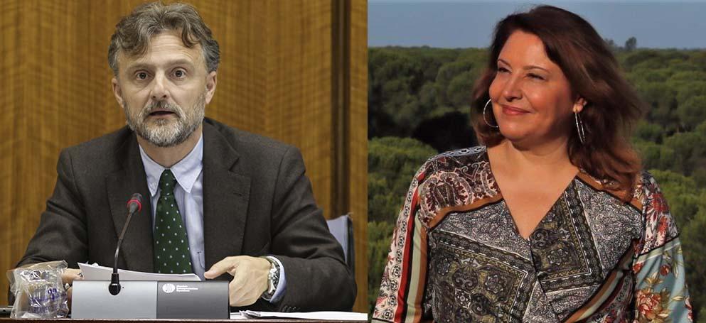 José Fiscal (izq) y Carmen Crespo (der)