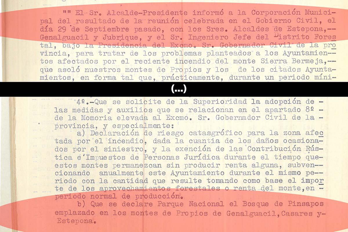 ALCALDES SOLICITARON EN 1966 LA DECLARACIÓN DE SIERRA BERMEJA COMO PARQUE NACIONAL