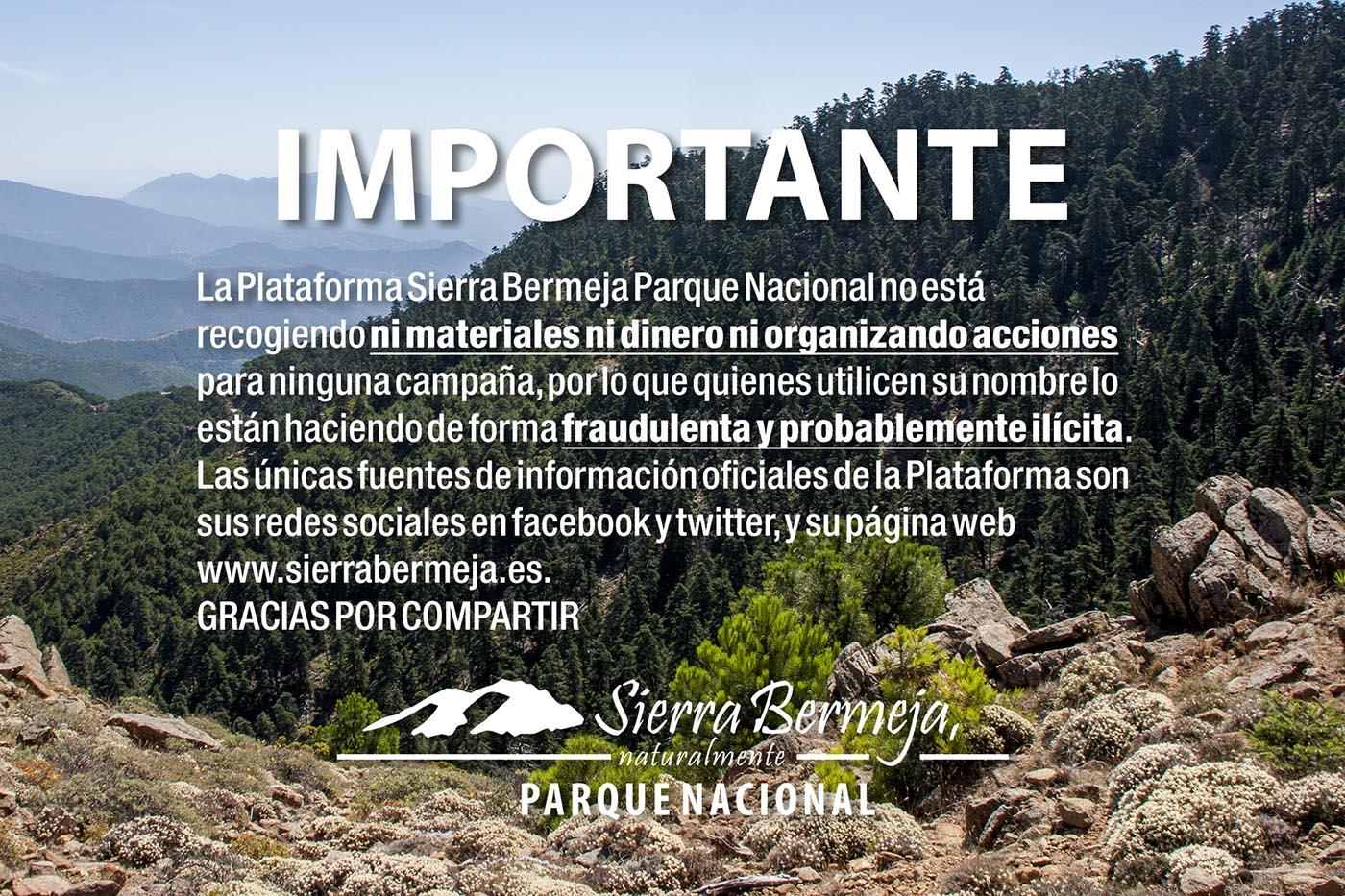 Campañas de la Plataforma Sierra Bermeja